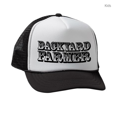 Backyard Farmer hat Kids Trucker hat