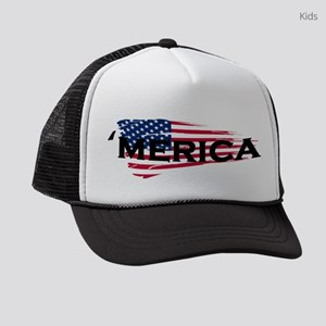 Merica Kids Trucker hat