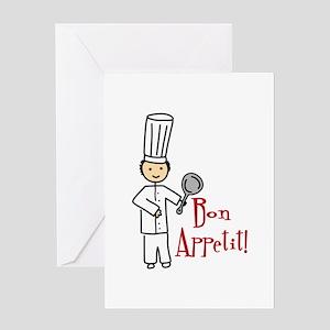 Bon Appetit! Greeting Cards