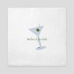 Martini At Five O'clock Queen Duvet