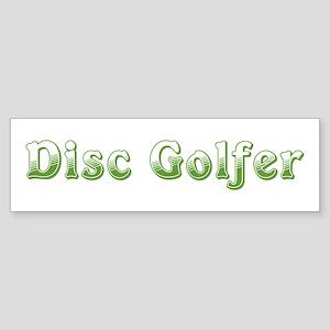 Disc Golfer Bumper Sticker