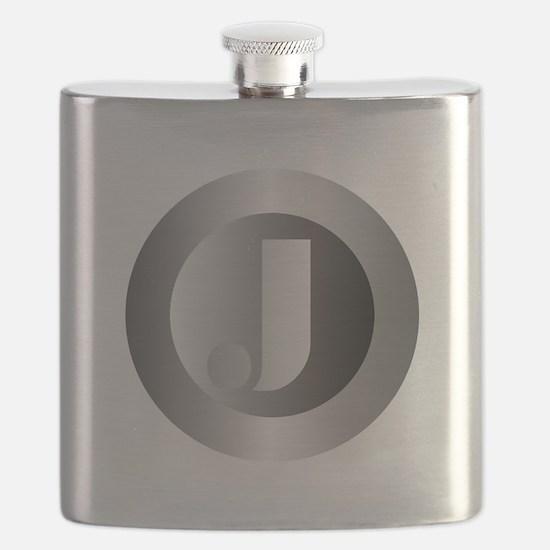 Polished Steel (J) Flask