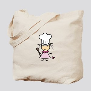 Little Chef Girl Tote Bag