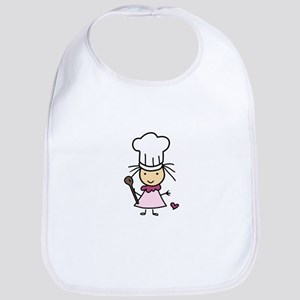 Little Chef Girl Bib