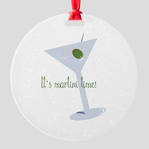 It's Martini Time! Ornament