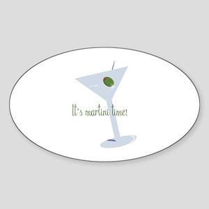 It's Martini Time! Sticker