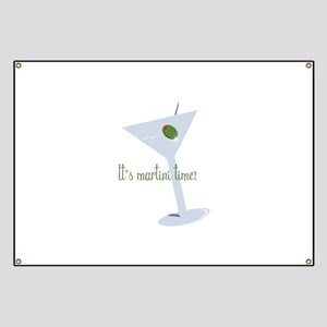 It's Martini Time! Banner