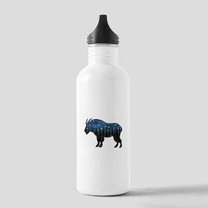 MOUNTAIN GOAT NIGHT Water Bottle