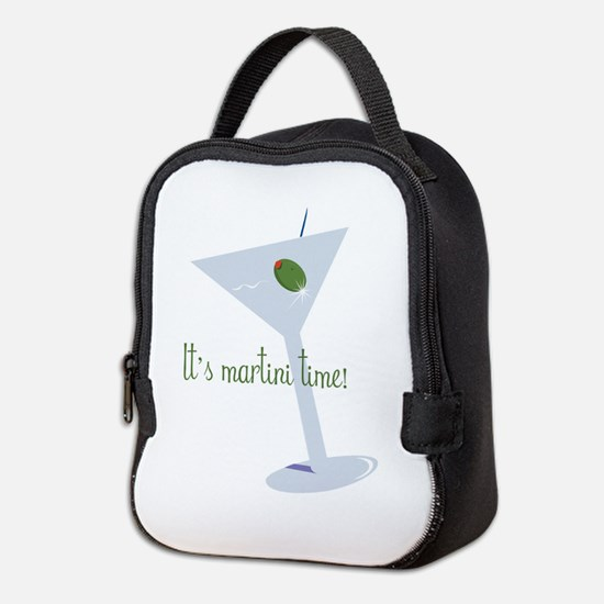 It's Martini Time! Neoprene Lunch Bag