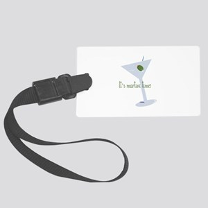 It's Martini Time! Luggage Tag