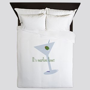 It's Martini Time! Queen Duvet
