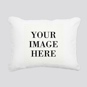 Monogrammed Initial Rectangular Canvas Pillow