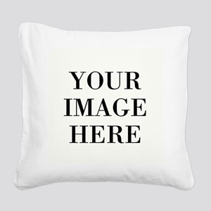 Monogrammed Initial Square Canvas Pillow