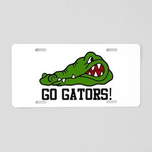 GO GATORS! Aluminum License Plate