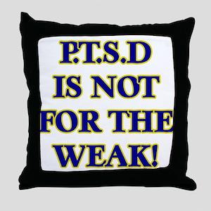 P Throw Pillow