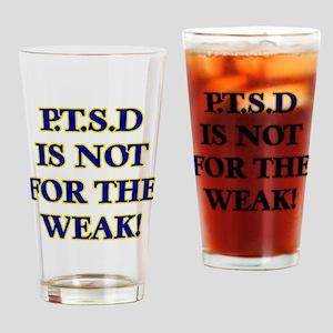 P Drinking Glass