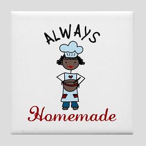 ALWAYS Homemade Tile Coaster