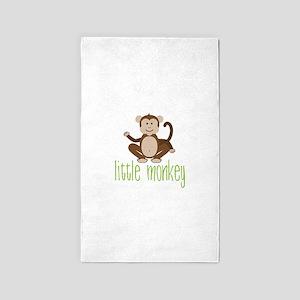 Little Monkey 3'x5' Area Rug