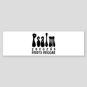 Psalm Records Reggae Co. Bumper Sticker