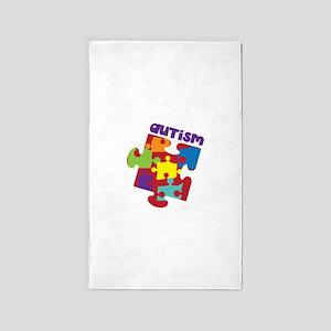 Autism 3'x5' Area Rug