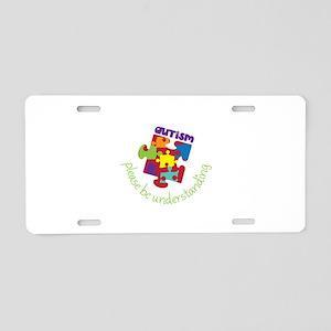 Please be understanding Aluminum License Plate
