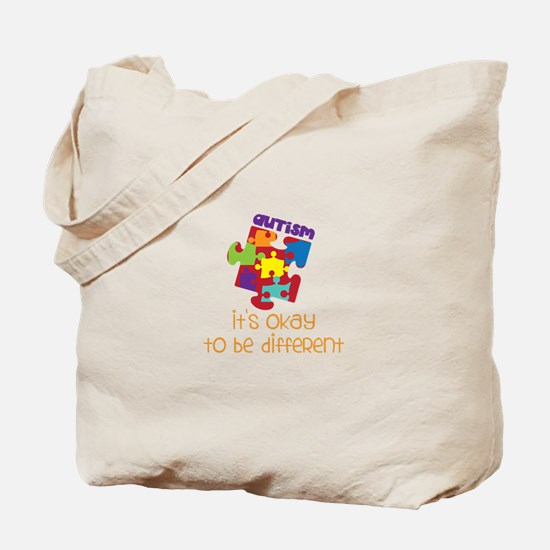 its okay to be different Tote Bag