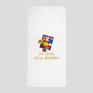 its okay to be different Beach Towel