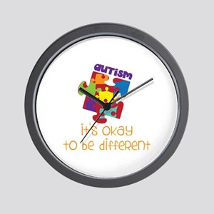 its okay to be different Wall Clock