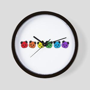 all bear inline 01 Wall Clock