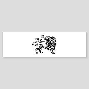 Reggae Lion Bumper Sticker