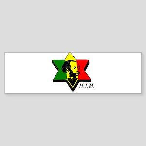 H.I.M. Haile Selassie I Bumper Sticker