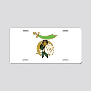 Daughters of the Nile Aluminum License Plate