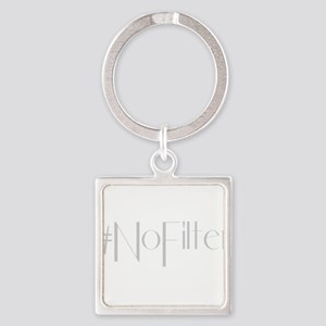 #NoFilter - gray Keychains