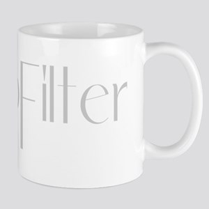#NoFilter - gray Mugs