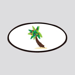 Christmas Palm Tree Patches