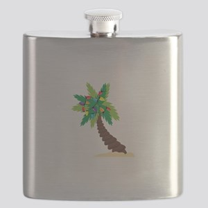Christmas Palm Tree Flask