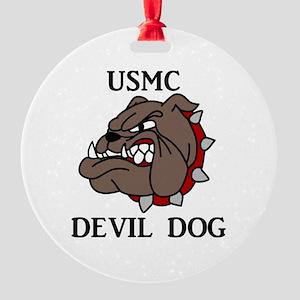 USMC DEVIL DOG Ornament
