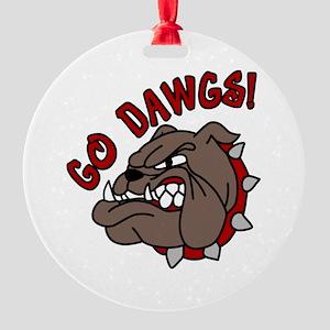 GO DAWGS! Ornament
