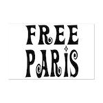 FREE PARIS Mini Poster Print