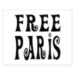 FREE PARIS Small Poster