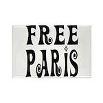 FREE PARIS Rectangle Magnet (100 pack)