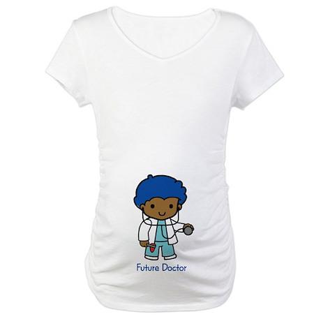 Future Doctor - boy Maternity T-Shirt