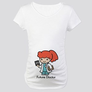 Future Doctor - girl Maternity T-Shirt
