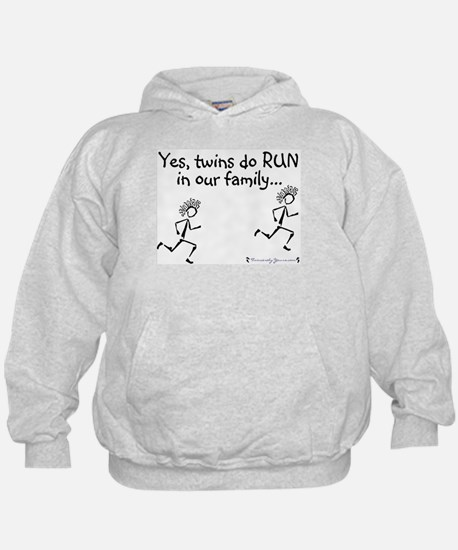 Yes, Twins do RUN in the Fami Sweatshirt