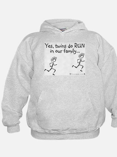 Yes, Twins do RUN in the Fami Sweatshirt