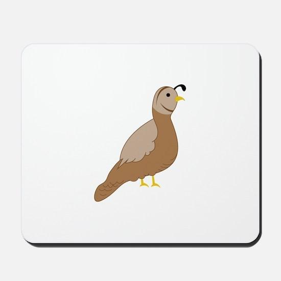 Quail Mousepad