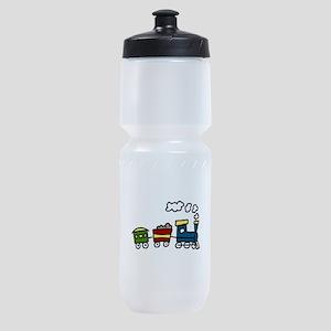Choo-Choo Train Sports Bottle