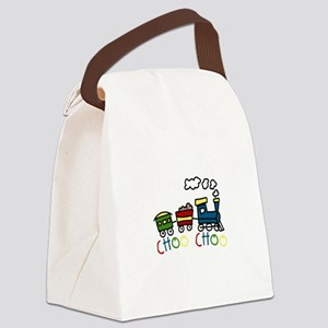 Choo Choo Canvas Lunch Bag