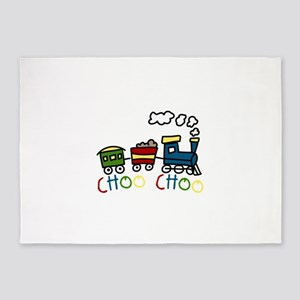 Choo Choo 5'x7'Area Rug