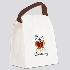 Prince Charming Canvas Lunch Bag